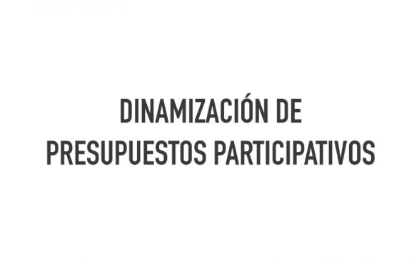 DINAMIZACIÓN DE PRESUPUESTOS PARTICIPATIVOS